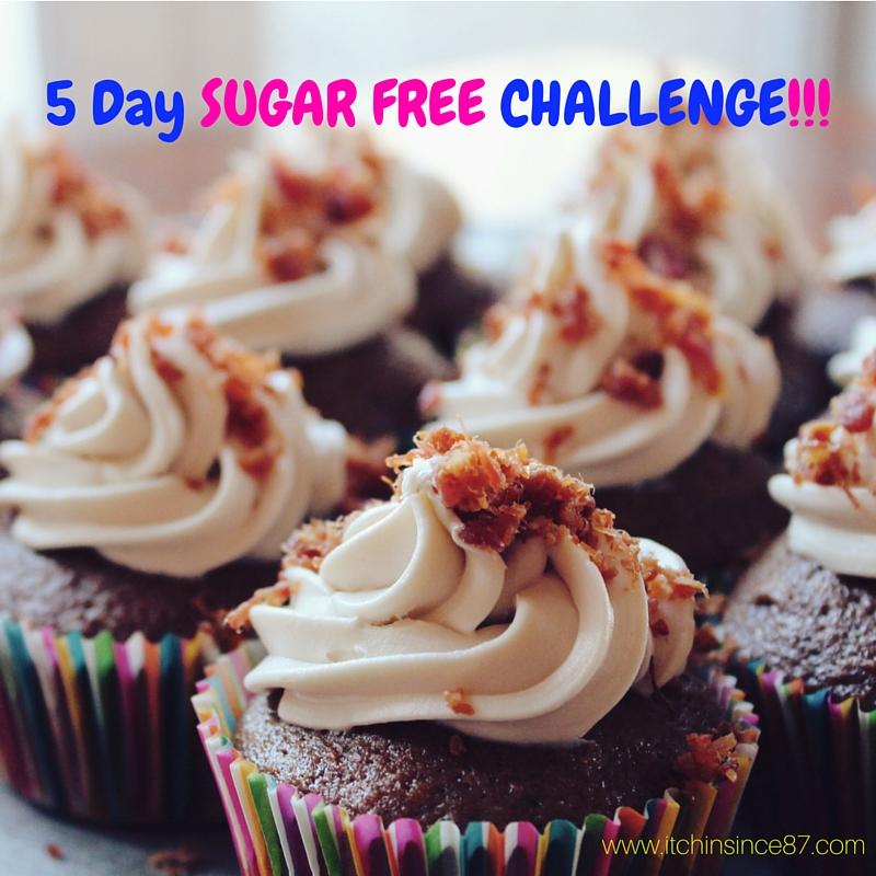 5 Day SUGAR FREE CHALLENGE
