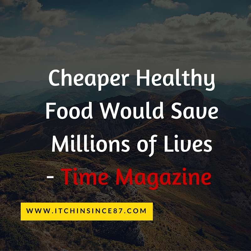 Cheaper Healthy Food Would Save Millions of Lives