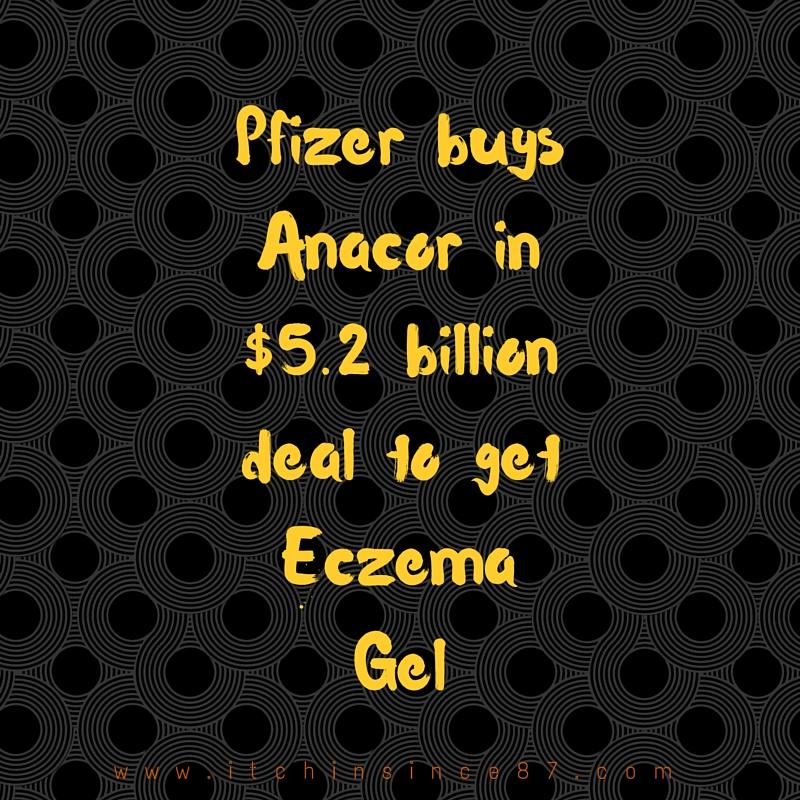 Pfizer buys Anacor in $5.2 billion deal to get Eczema Gel