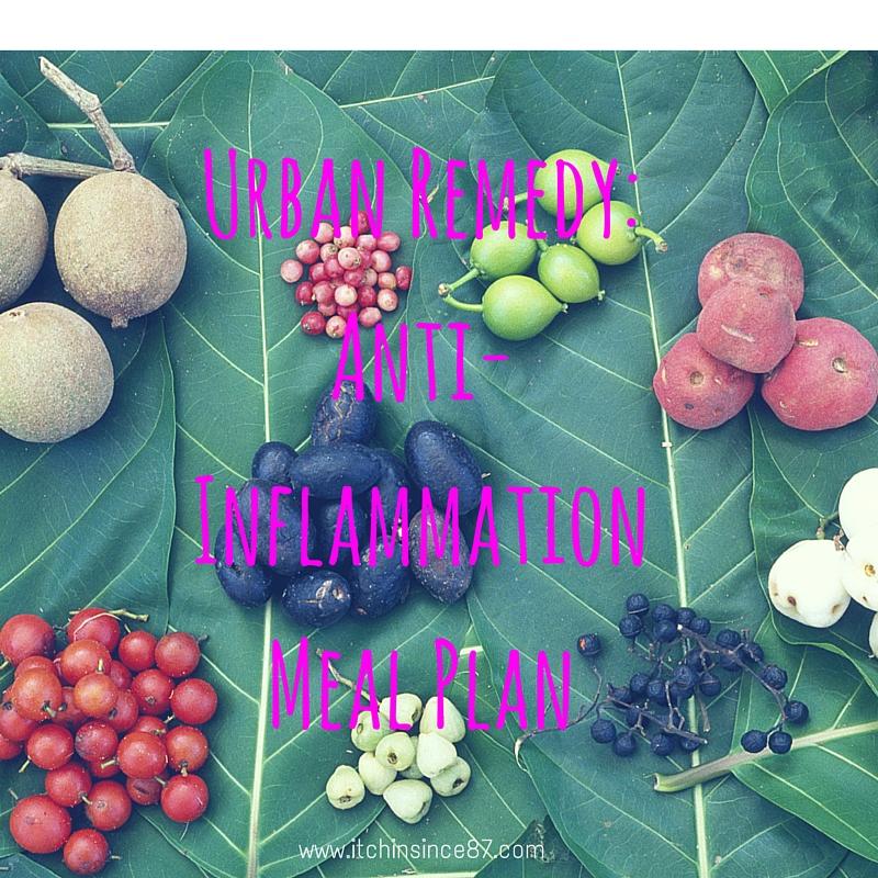Urban Remedy- Anti-Inflammation Meal Plan