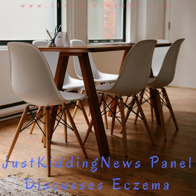 JustKiddingNews Panel Discusses Eczema