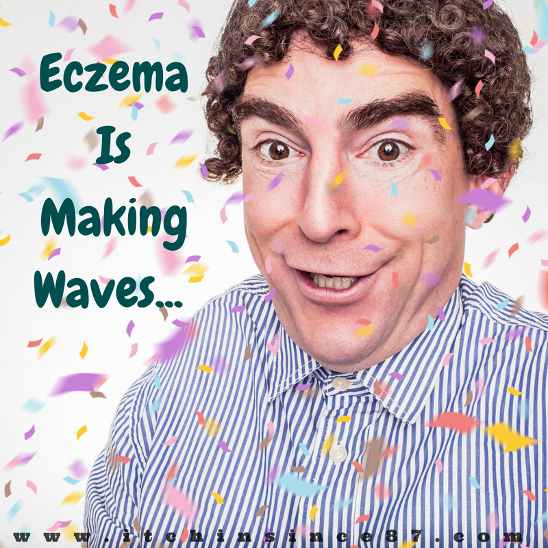 eczema is making waves
