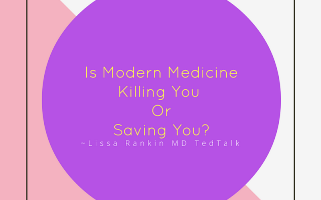 Is modern medicine saving you