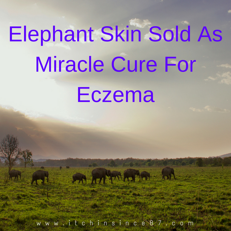 Elephant Skin Sold As Miracle Cure For Eczema