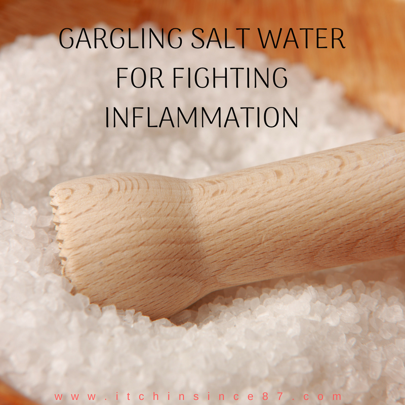 Gargling Salt Water For Fighting Inflammation